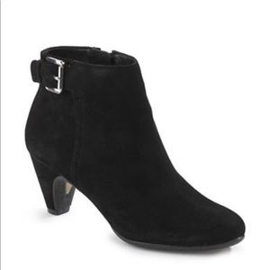Sam Edelman Morgan Buckled Suede Bootie